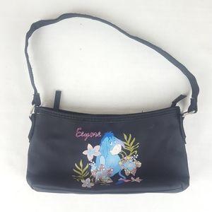 Walt Disney World Eeyore Zip Closure Handbag Purse